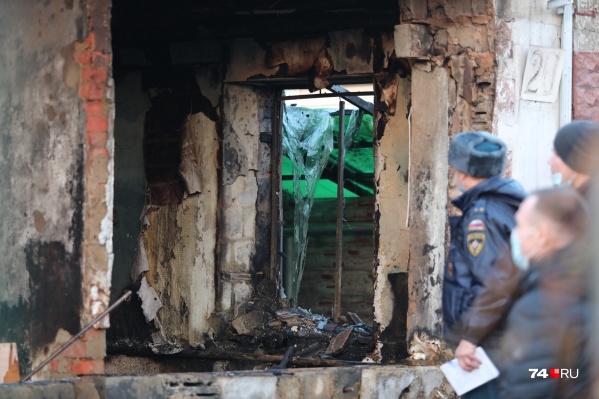 Газ взорвался в частном доме на ЧМЗ