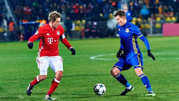 «Ростов» рассказал «Локомотиву», как обыграть «Баварию» в Лиге чемпионов