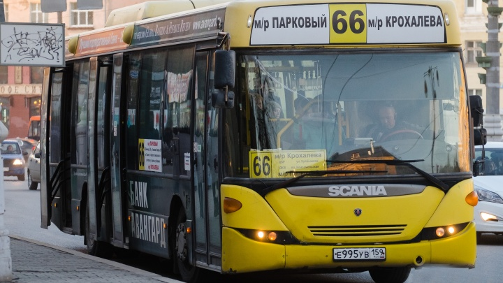 Пермяки попросили сохранить три автобусных маршрута в микрорайоне Парковом