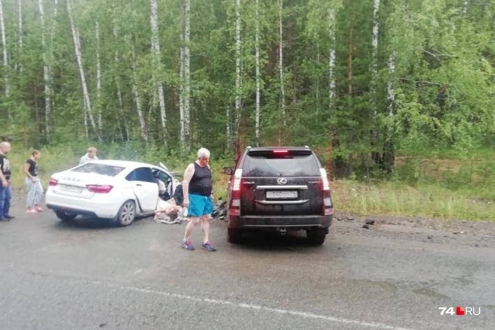 Их «Лада» столкнулась с Lexus бывшего вице-губернатора Челябинской области