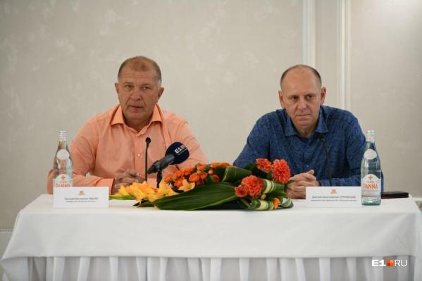 Григорий Иванов и Дмитрий Пумпянский час отвечали на вопросы журналистов об «Урале»