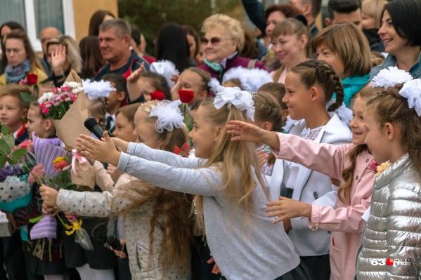 1 сентября по традиции в школах проведут линейки