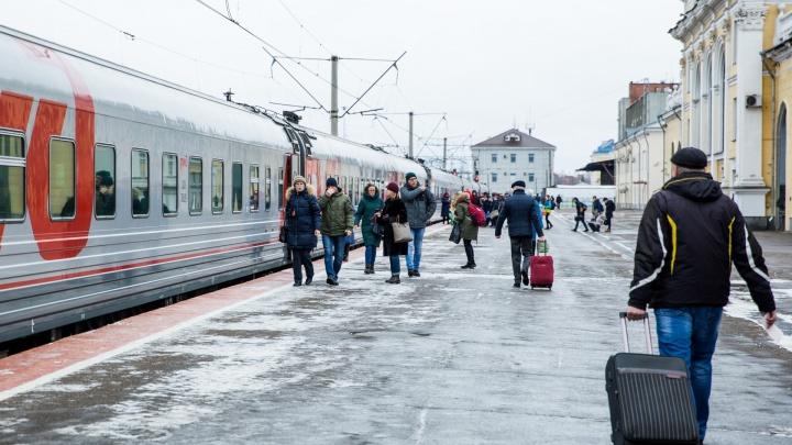 При продаже билетов на поезд у всех пассажиров будут записывать сотовые