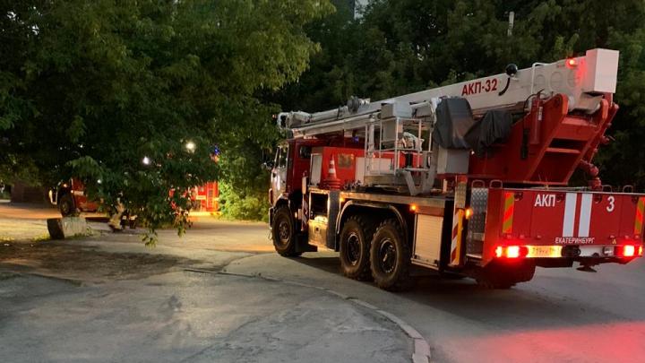 «Возможно, поджог»: в Зеленой Роще загорелось здание заброшенной больницы