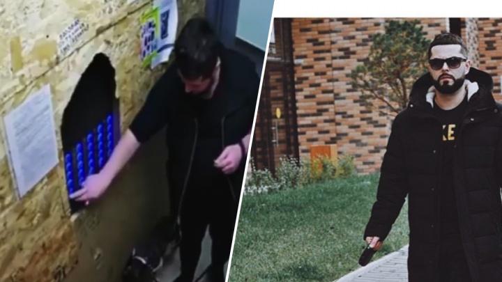 Пользователи соцсетей вычислили мужчину, жестоко избившего свою собаку возле лифта
