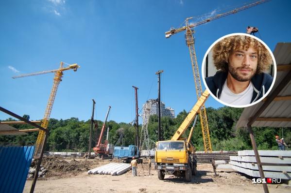 Варламов считает, чтоРостов-на-Дону изуродовали