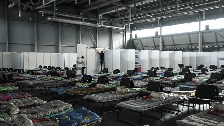 В «Екатеринбург ЭКСПО» готовят госпиталь для тяжелых пациентов с COVID-19 и туристов