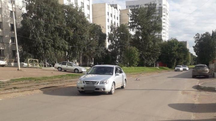 В центре Уфы сбили 9-летнюю девочку