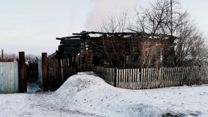 В Курганской области на выходных при пожарах погибли три человека