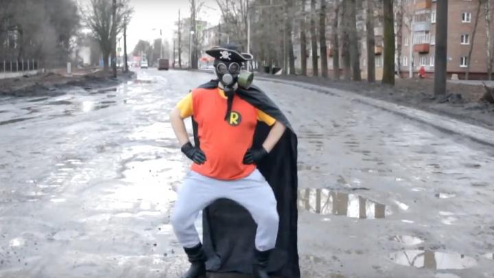 «Капитан Реальность» из Ярославля перетанцевал Little Big в разбитом брагинском дворе