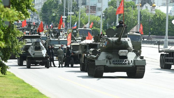 Вся техника в двух картинках: какие танки и самолеты поучаствуют в параде Победы в Екатеринбурге
