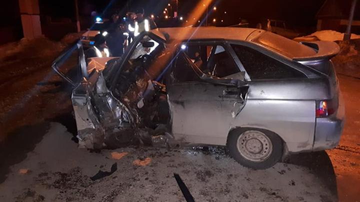 В Башкирии Datsun on-DO вылетел на встречку: погиб водитель отечественной легковушки