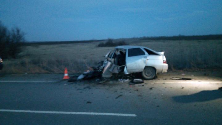 Смертельный обгон: на трассе в Самарской области в ДТП погибли два водителя