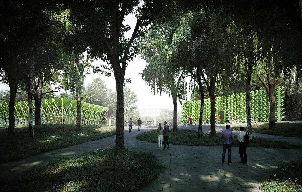 Все здания обещают сделать некапитальными и органично вписать их в зеленый пейзаж
