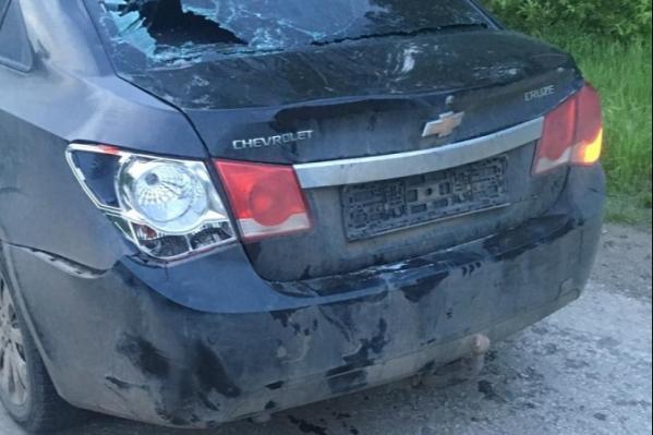 В Зауралье водитель иномарки сбил двух девушек и отказался от медицинского освидетельствования