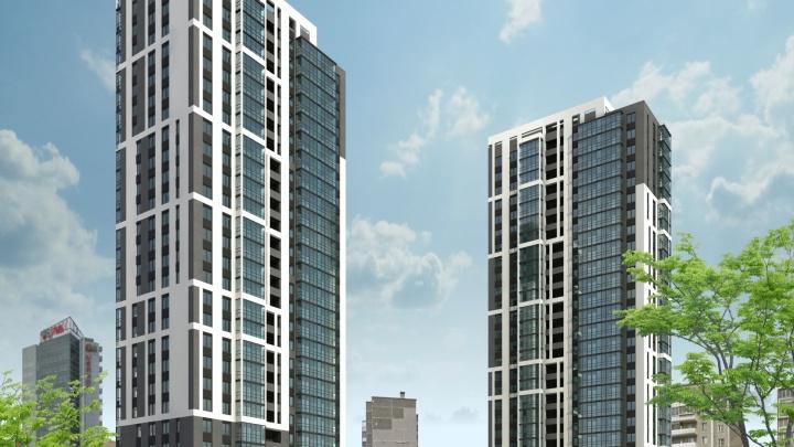 Компания Олега Лакницкого построит на пустыре у ледовой арены «Трактор» комплекс с 25-этажными домами