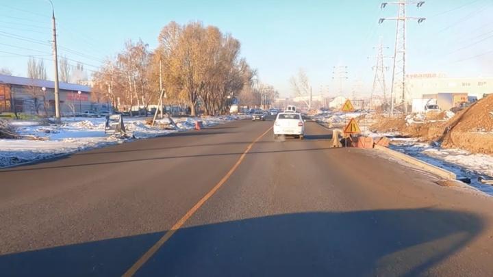 Стали известны новые сроки завершения реконструкции Заводского шоссе