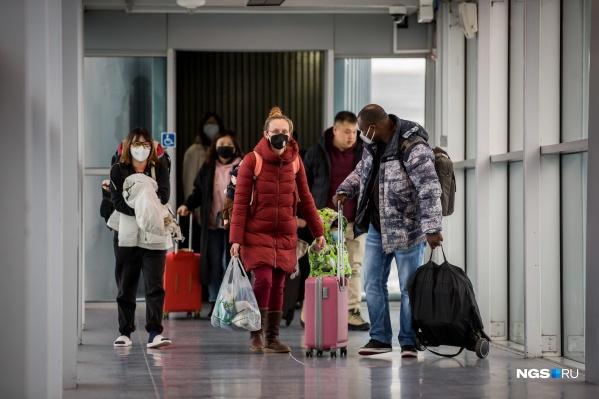 В Тюмень продолжают возвращаться люди из-за границы