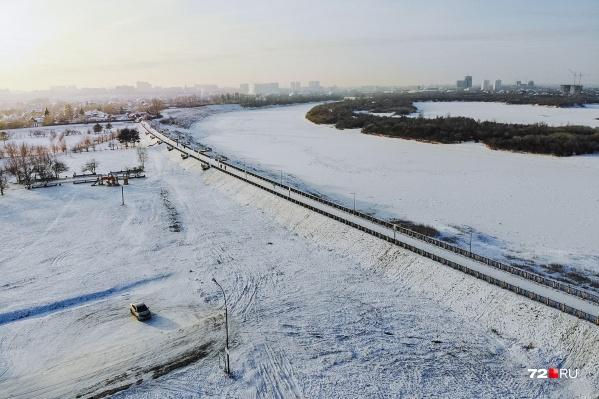 """Продолжительность набережной в Зареке — больше <nobr class=""""_"""">500 метров</nobr>"""