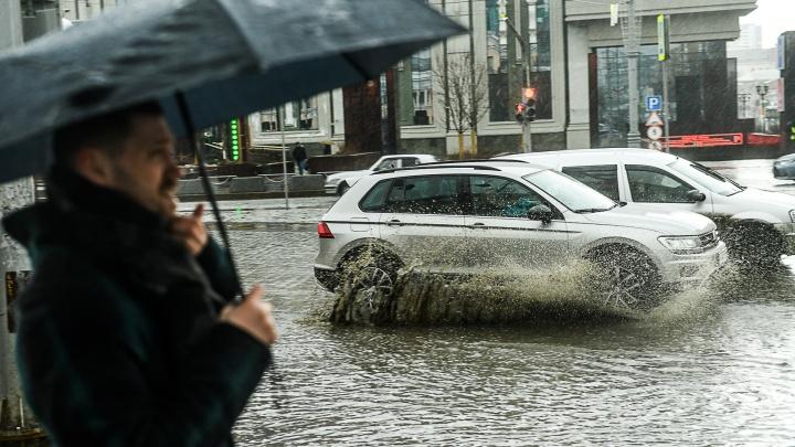 Доставайте зонтики: начало недели в Екатеринбурге будет дождливым