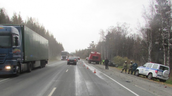 Мужа погибшей в ДТП на трассе М-5 в Челябинской области незадолго до аварии поймали пьяным за рулём
