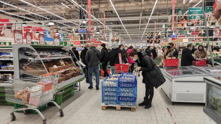 Цены в 2020 году в Нижегородской области выросли больше, чем в среднем по России