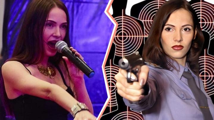 Капитанская точка: челябинская красотка уволилась из МВД и стала певицей в Москве