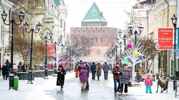 Прогноз погоды на неделю: нижегородцев ожидает потепление к концу недели