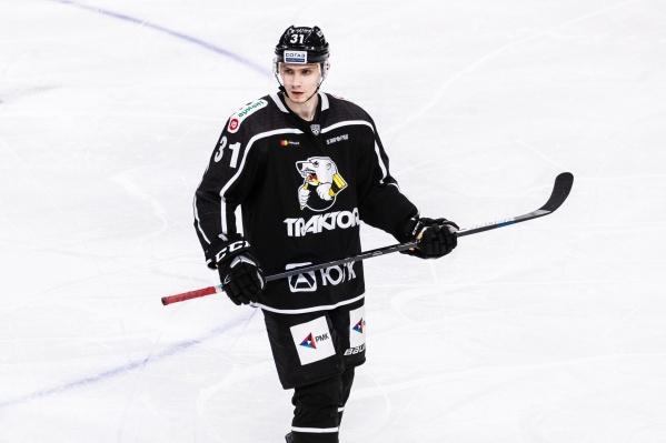 Артём Михеев в минувшем сезоне в составе «Трактора» набрал три очка