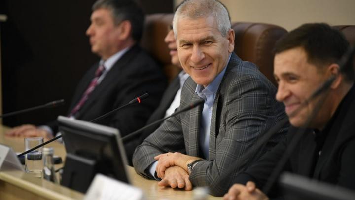 Куйвашев и министр спорта РФ обсудили перспективу отмены всех соревнований в области из-за коронавируса