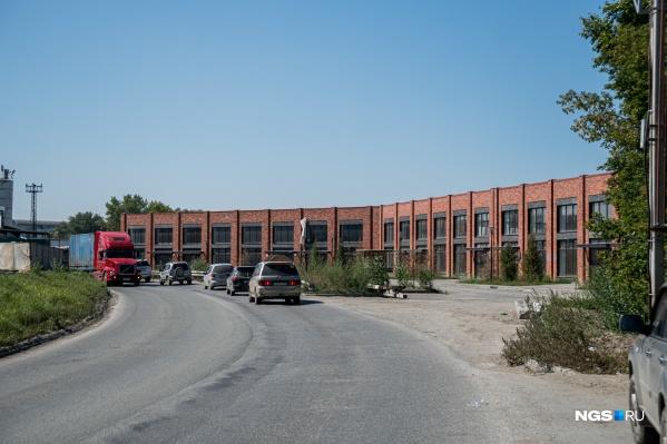 Небольшое административное здание станет основой для нового жилого комплекса
