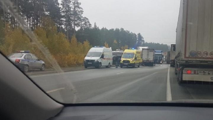 Стали известны места на дорогах Свердловской области, где в 2020-м чаще всего происходили аварии
