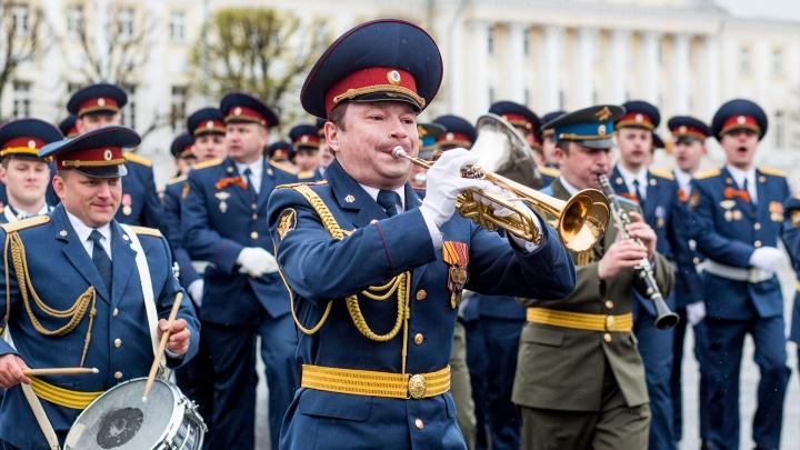 Из-за празднования Дня Победы в Ярославле перекроют улицы: список
