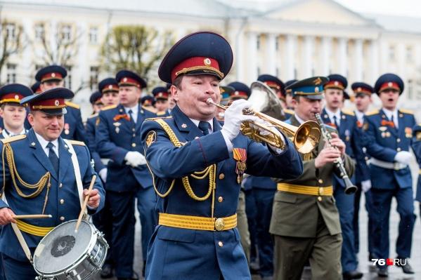 В честь Победы в Великой Отечественной войне в Ярославле пройдут шествие, концерты и салют