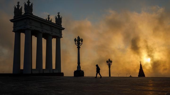 Гидрометцентр прогадал: крепкие морозы в Волгограде продержатся до конца декабря