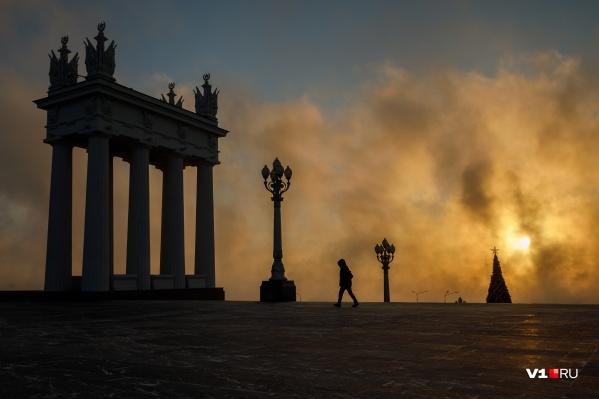 Морозы будут стоять в Волгограде до конца месяца