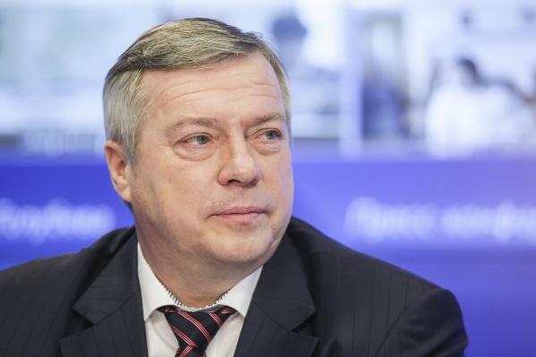 Василий Голубев руководит областью уже 10 лет