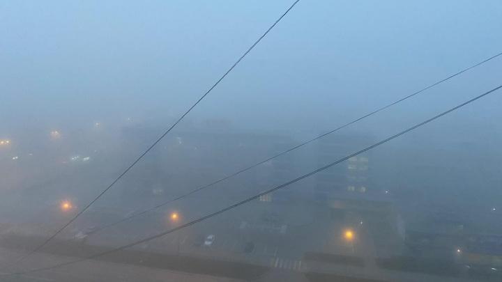 В ГИБДД предупредили о сильном тумане на дорогах Свердловской области