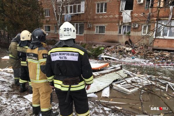 Взрыв произошел на третьем этаже жилого дома на Павлова, 84/108