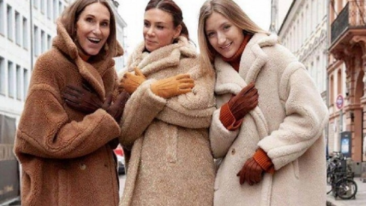 В бутике «Лук&Мята» представили новую коллекцию эко шуб из натуральной овечьей шерсти