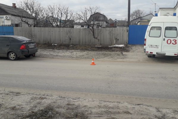 Пешеход внезапно появился перед автомобилем