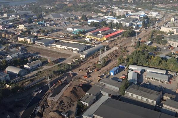 Реконструкцию дороги ведут с 2019 года