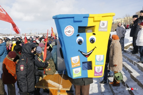 Митинги и пикеты проходят не только в Архангельской области, но и в других регионах страны