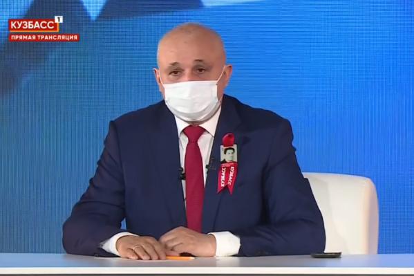 Губернатор отметил, что Кузбасс достойно ответил на ситуацию с коронавирусом