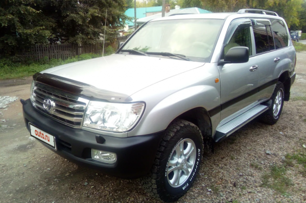 Toyota Land Cruiser 105, 2004 год