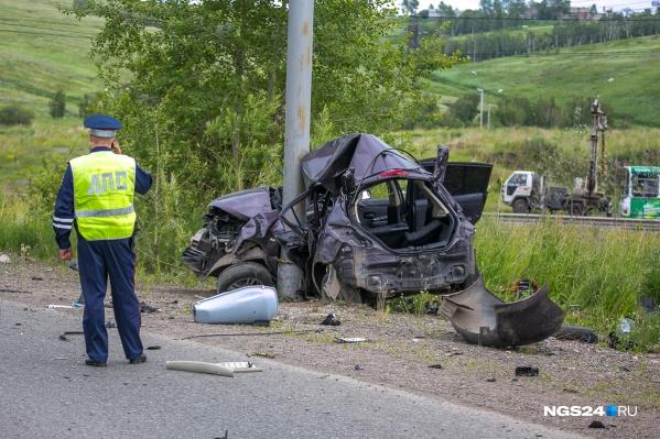 За 7 месяцев с начала года в авариях разбились 162 человека