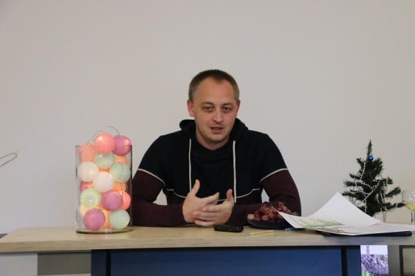 Дмитрий Жебелев основал в Перми благотворительный фонд «Дедморозим»