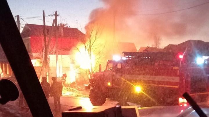 В Метелёва, где два дня назад взорвался газ, произошел пожар. Что на этот раз?