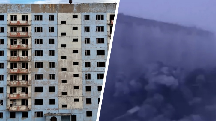 В Норильске взорвали заброшенную многоэтажку