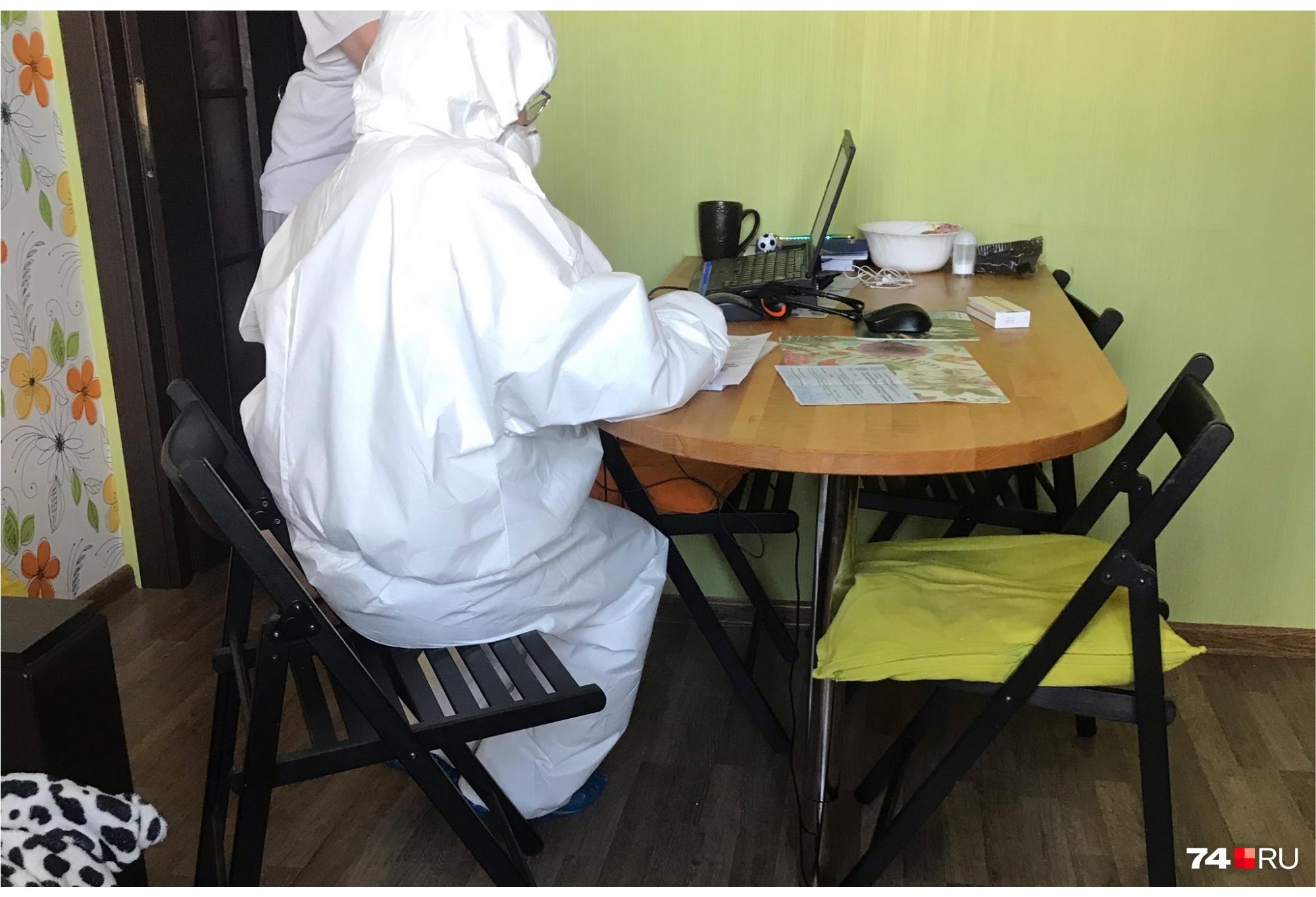 Работы у медиков во время пандемии невпроворот
